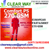 EUROPEAN PANT SHIRT 270 GSM DEALER IN MUSSAFAH , A ...