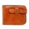VILADO Trendy Grained Leather Billfold Wallet