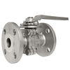 Two piece Flanged stainless steel ball Valve