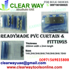 READYMADE PVC CURTAIN & FITTINGS DEALER IN MUSSAFAH , ABUDHABI ,UAE