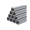 Grey Round Aluminized Steel Pipes