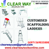 CUSTOMISED SCAFFOLDING LADDERS DEALER IN MUSSAFAH , ABUDHABI , UAE