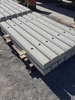 Concrete wheel stopper