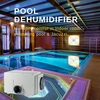 Dehumidifier. Indoor pool room dehumidifier. pool  ...