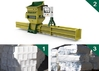 High quality GREENMAX Styrofoam compactor