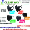 WASHABLE AND REUSABLE CWAY MASKS DEALER IN MUSSAFAH , ABUDHABI , UAE