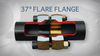 37 Degree Flare Flange