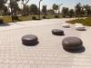 Precast UHPC pebble seat Oval Manufacturer in UAE