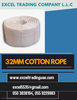 32 MM COTTON ROPE SUPPLIER IN ABUDHABI,UAE