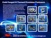 GARMENT RIVETS - High strength precision cold  ...