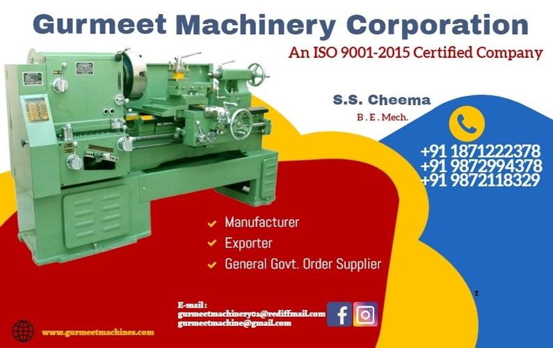 GURMEET MACHINERY CORPORATION