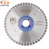 300mm-600mm W2 Silent diamond saw blade cutting disc for Granite Quartz E.stone