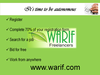 BUSINESS SERVICES from WARIF