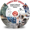 electric equipment and supplies retail from POWER MEP LLC