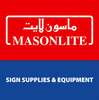 reflective sign materials from MASONLITE SIGN SUPPLIES & EQUIPMENT