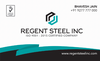 STEEL PIPES from REGENT STEEL INC